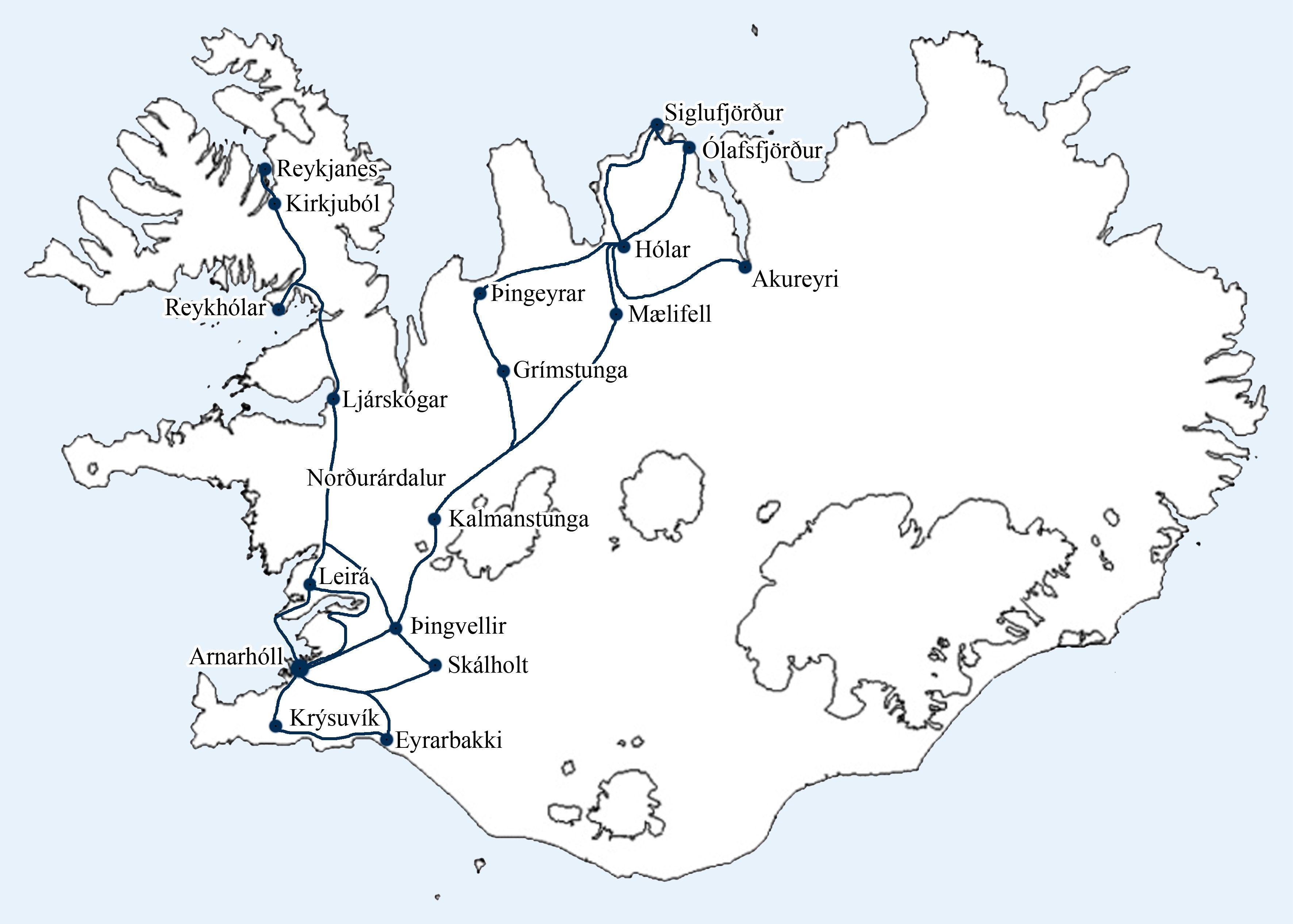 Landkommissionens rejser